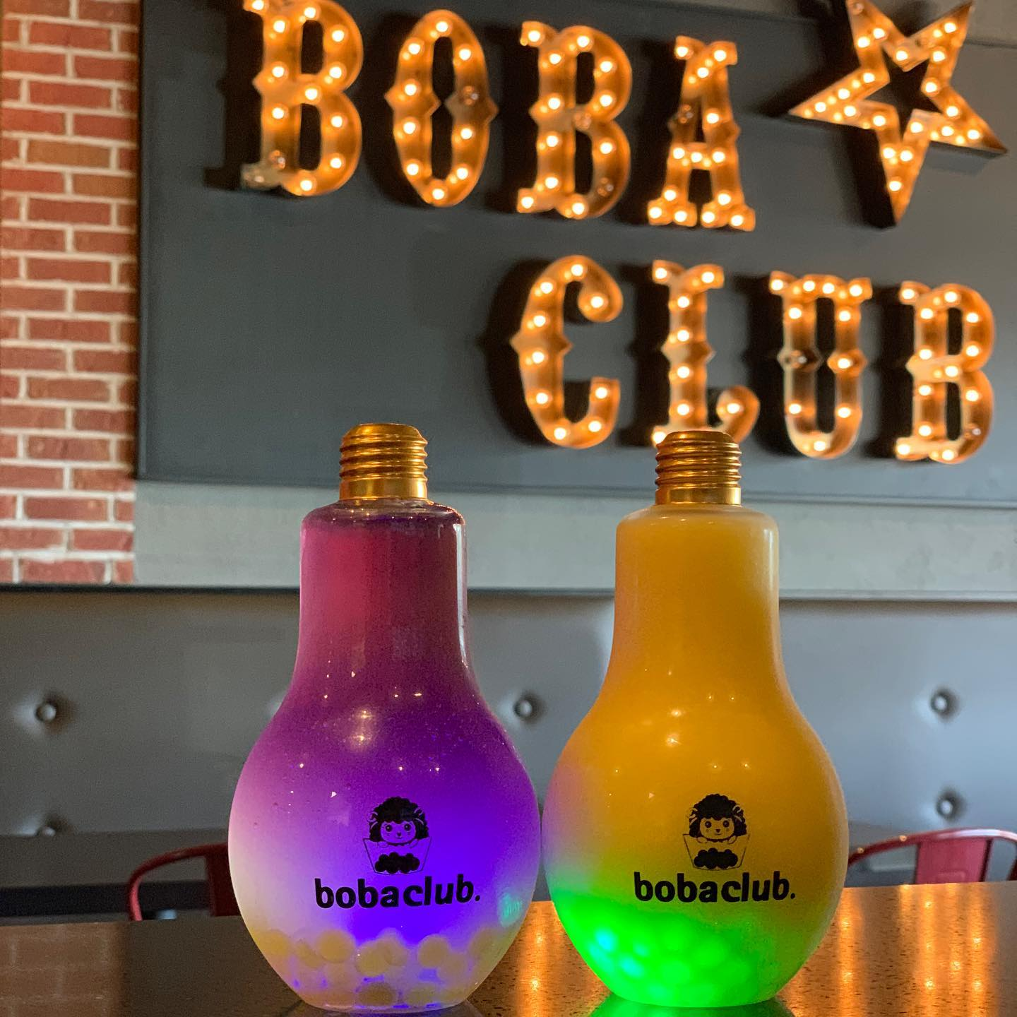 Light up Light bulb Cups