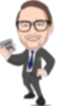 The Mortgage Geek Character Logo