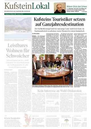 Tourismusstammtisch in Kufstein