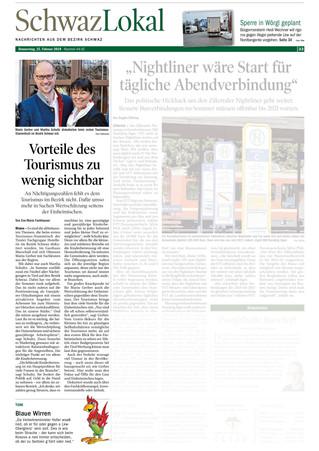 Erster Tourismusstammtisch im Bezirk Schwaz