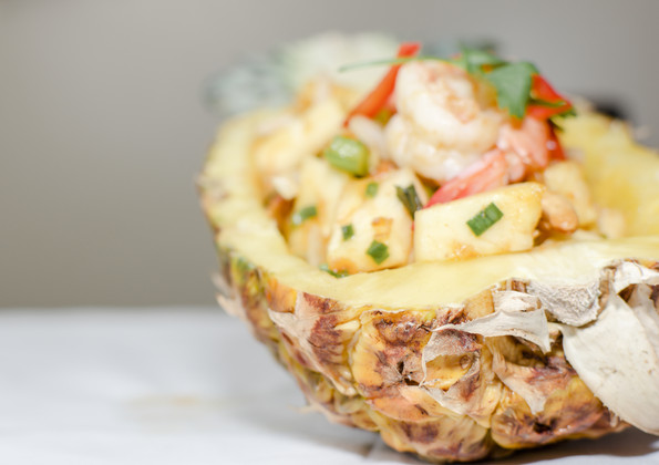 24. Salade d'ananas