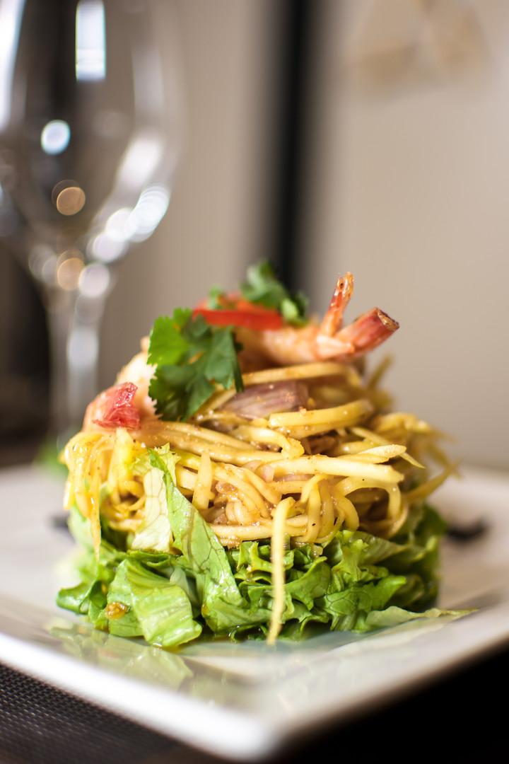 23. Salade de mangue