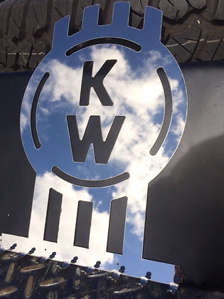 Stainless Steel Key Ring Holder - Kenworth