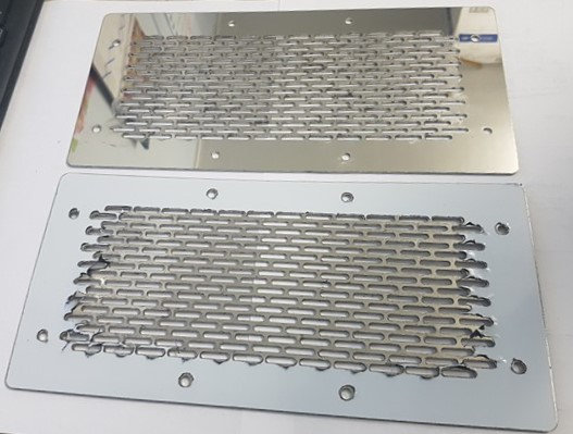Stainless Steel Front Cab Vent Covers - K100