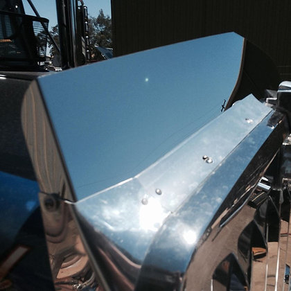 Stainless Steel Bug Deflector Insert Style To Suit Kenworth 404SAR