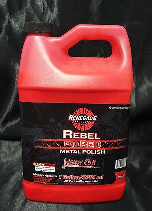Renegade Rebel Pro Red Metal Polish Heavy Cut - 1 Gallon (3.7 Litres)