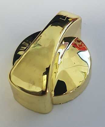 Western Star Air Con Knob (Gold)