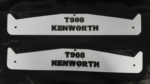 Kenworth Mud Flap Weights - T908 Long