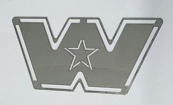 Stainless Steel Bug - Western Star Badge