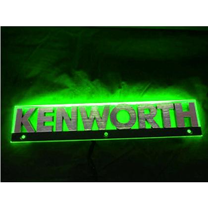 Kenworth LED Side Badge Back Light - Green