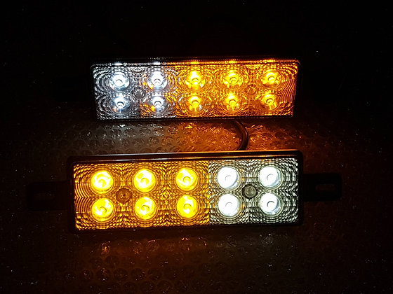 Pair Of LED Indicators/Park Lights with Day Light - 9 to 33 volt