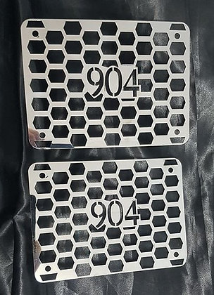 "Stainless Steel 6"" Air Ram Inserts - T904"