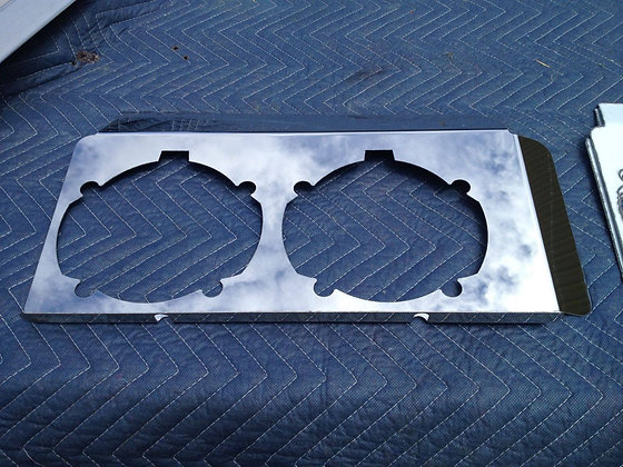 Western Star Headlight Backings To Suit 4800's - Short