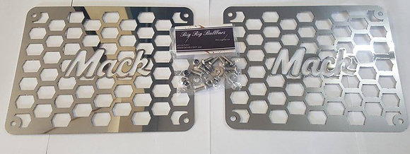 "Stainless Steel 6"" Air Ram Inserts - Mack Laser Cut"