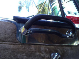 Mack Super Liner Arm Rest with holes
