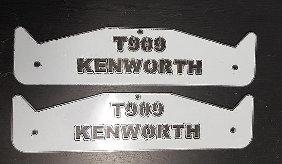 Kenworth Mud Flap Weights - T909 Short