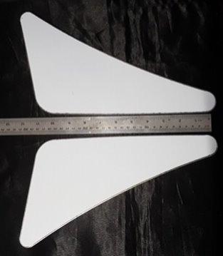 Western Star Side Bonnet Trim (Small)