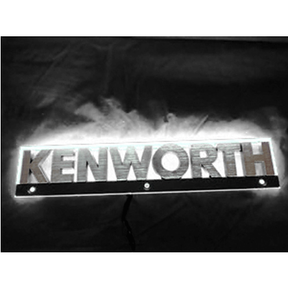 Kenworth LED Side Badge Back Light - White