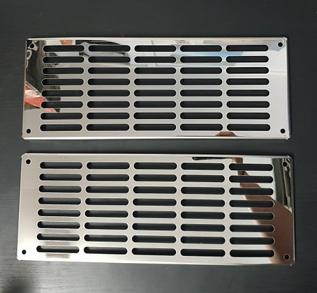 Stainless Steel Front Cab Vent Covers - K108