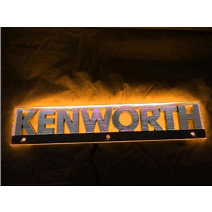 Kenworth LED Side Badge Back Light - Amber