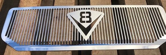 Stainless Toyota DPF Intercooler Guard - V8