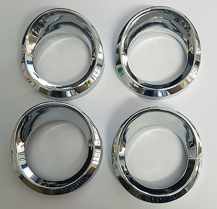 4 Pack Of Small Gauge Covers (CHROME)