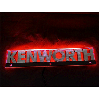 Kenworth LED Side Badge Back Light - Red