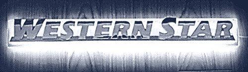 Western Star LED Side Badge Back Light - White