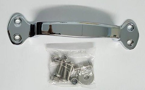 Chrome Grab Handle To Suit KW Toolbox Cover (Single)