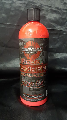 Renegade Rebel Pro Red Polish Heavy Cut - 710ml