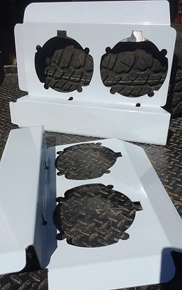 Western Star Headlight Backings To Suit 4800's - Long