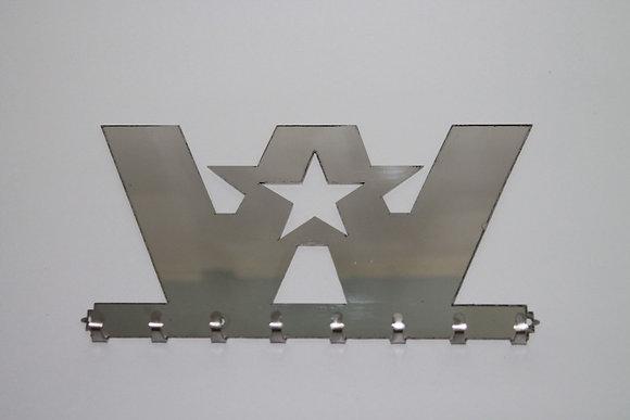 Stainless Steel Key Ring Holder - Western Star