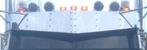 "14"" Drop Visor To Suit Western Star Stratosphere"