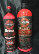 Renegade Rebel Red Alloy Kit (Red Metal Polish Show & Shine - 355ml & Pro Red Metal Polish Heavy Cut - 710ml)