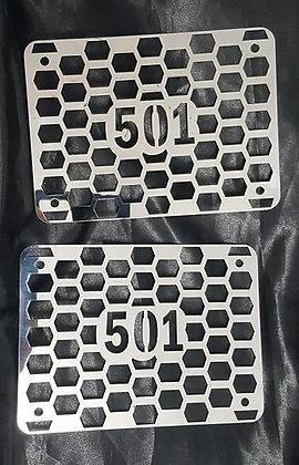 "Stainless Steel 6"" Air Ram Inserts - T501"