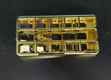 Gold Look Plastic Vent To Suit Kenworth  T400's, T600's & T900's