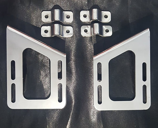 Kenworth T909 Mirror Pipe Bracket Kit