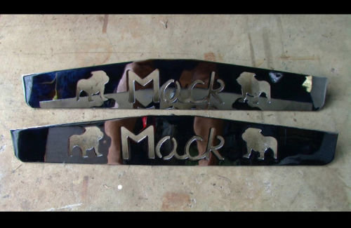 Stainless Steel Mack Mud Flap Weights