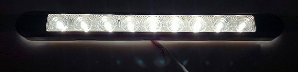 Flush Mount Clearance Light (9LED) - Clear/White