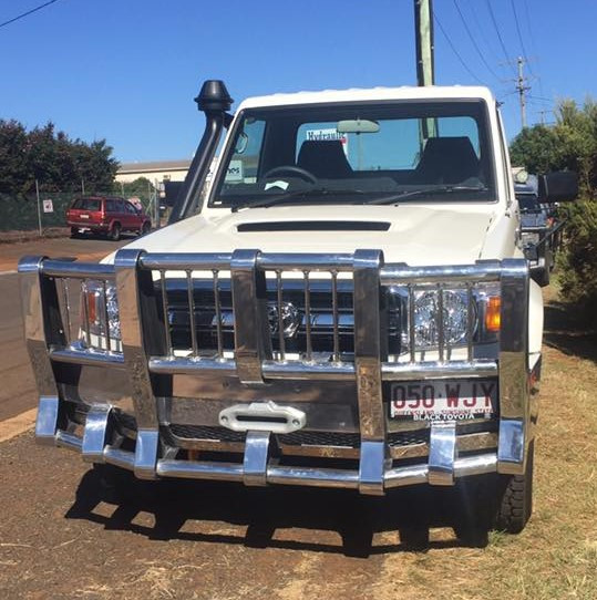 Land Cruiser Winch Bullbar