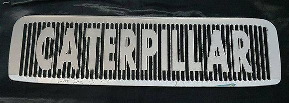 Stainless Toyota Pre DPF Intercooler Guard - CATERPILLAR