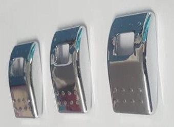 3 Pack Of Rocker Switch Covers <2008 (Chrome)
