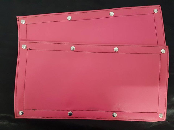 Hot Pink Road Train Sign Covers