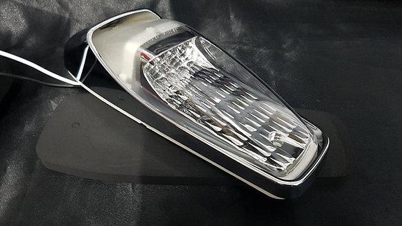 12-24 Volt LED Chrome Cab Light (Clear/White) - Mack