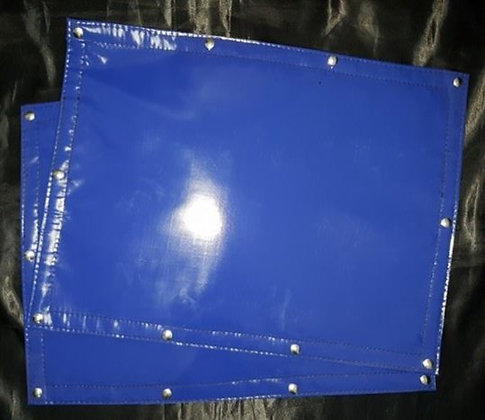 Dark Blue Over Size Sign Covers