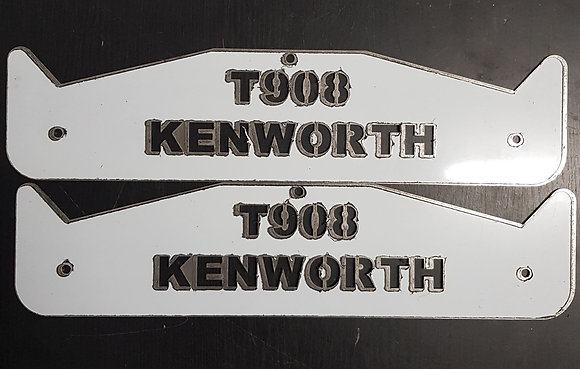 Kenworth Mud Flap Weights - T908 Short