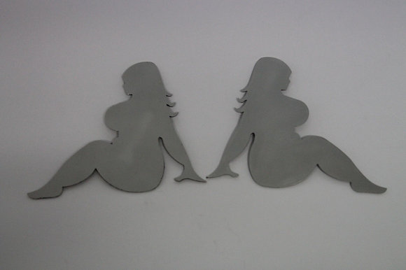 Stainless Steel Bug - Large Curvy Chick