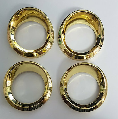 4 Pack Of Small Gauge Covers (GOLD)