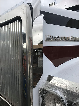 Western Star Side Bug Deflectors - Curved