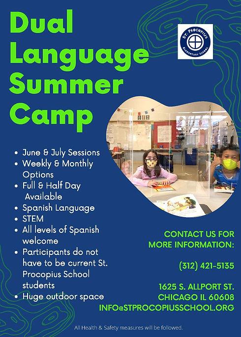 St. Procopius  Dual Language Summer Camp